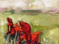 red-chair-seriesprairie-past-time-
